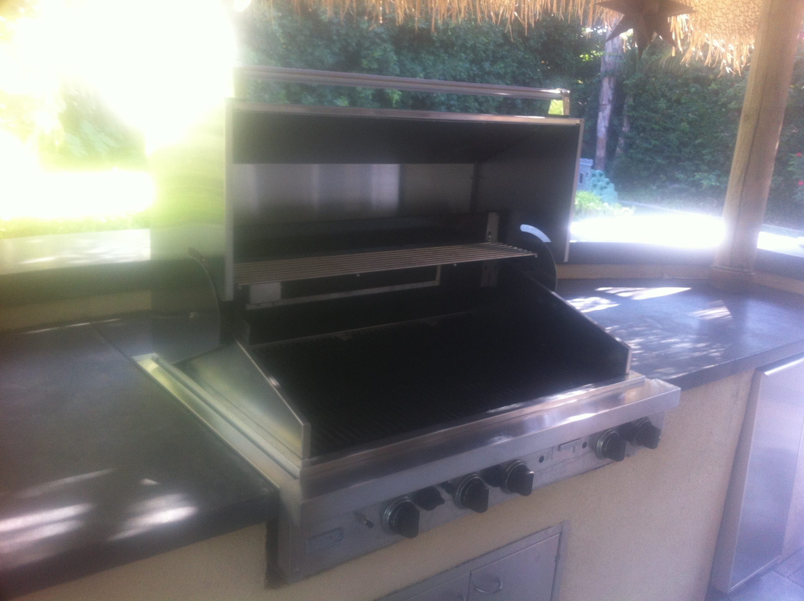 Viking Barbecue Grill Restoration done by BBQ Restorations